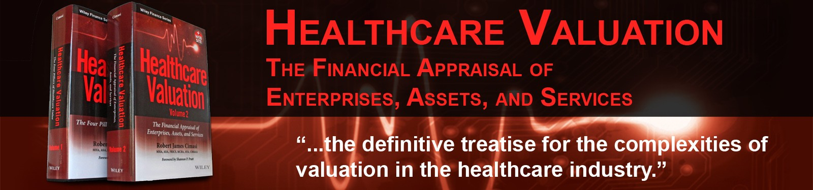 Healthcare Valuation Banner
